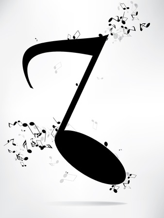 Music background with notes Stock Vector - 23152408