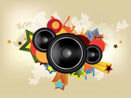 추상 음악 배경 스톡 콘텐츠 - 23152499