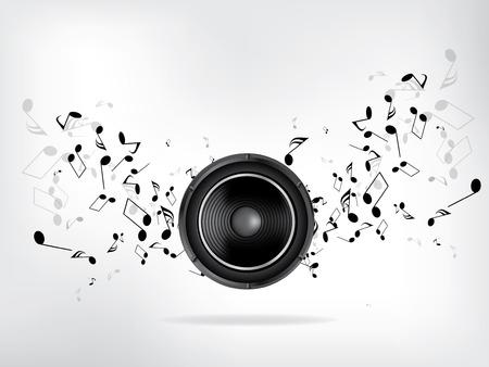 抽象音楽レトロなグランジ背景