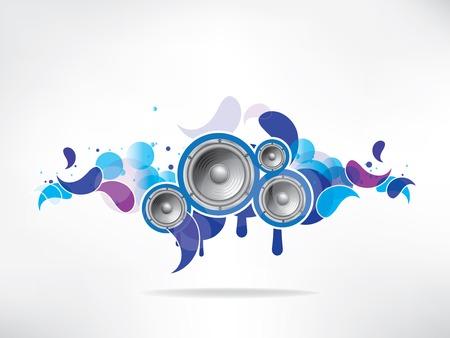hip hop dance pose: Resumen musical de fondo de color Vectores