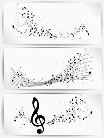 Musical abstrakten Hintergrund Standard-Bild - 23152676