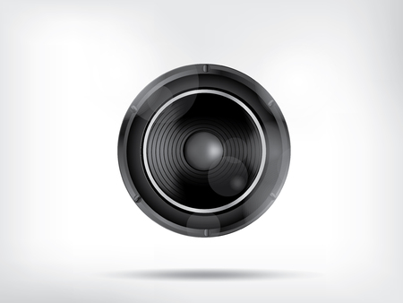 stereo subwoofer: Music background with subwoofer