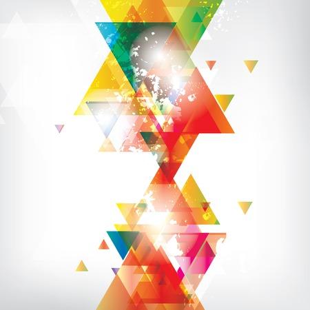 Abstrakten Hintergrund mit farbigen Elementen Standard-Bild - 23159208