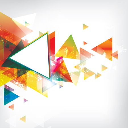 Abstrakten Hintergrund mit farbigen Elementen Standard-Bild - 23159207