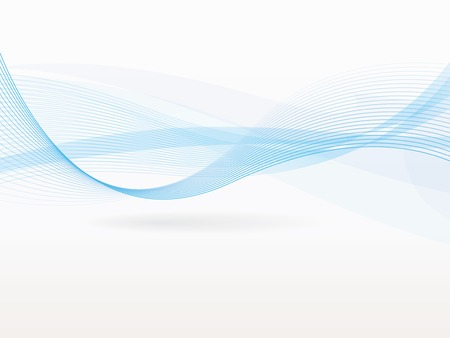 Vector abstracte achtergrond met golven en lijnen Stock Illustratie