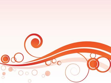 swirl: abstract vector wave Illustration