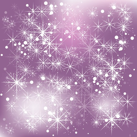 spangle: Elegant Christmas abstract background with snowflakes