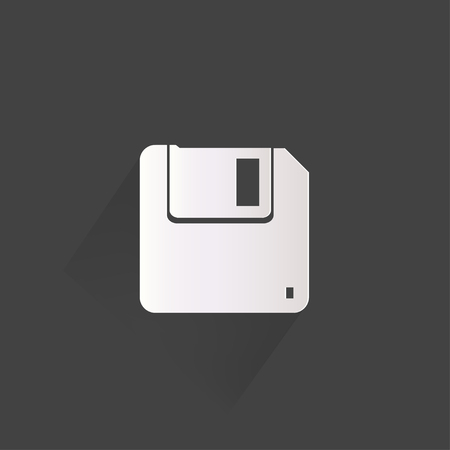 salvaging: Floppy disk icon