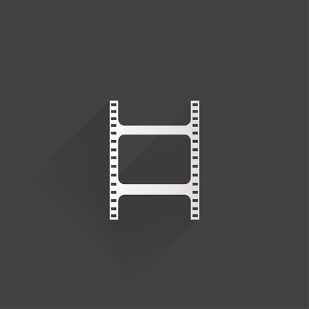 Film web icon Stock Vector - 24372780