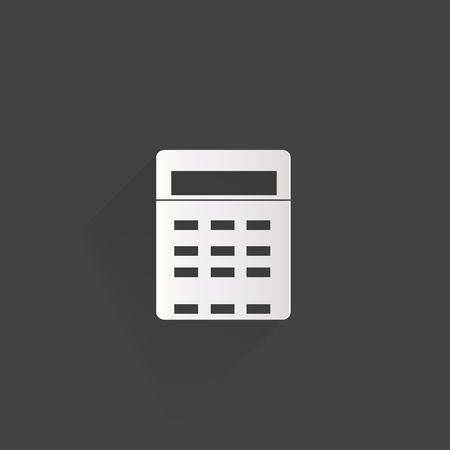 Calculator web icon Vector