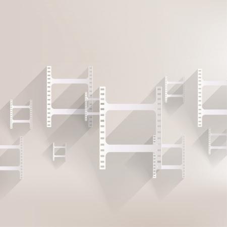 Film web icon Stock Vector - 24372795