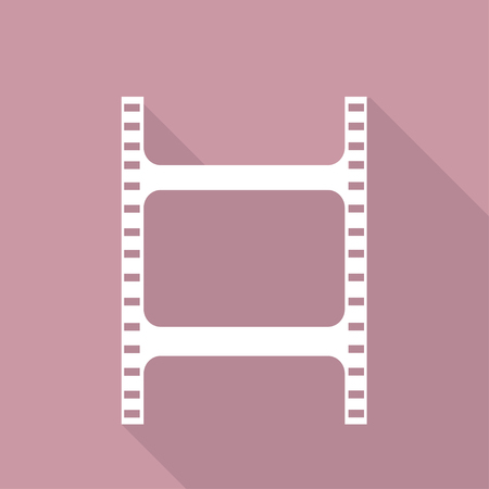 Film web icon Vector