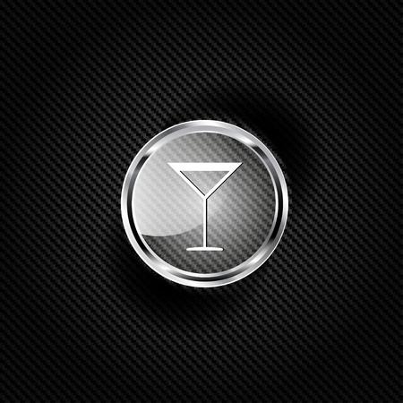 coke: Drink glass web icon