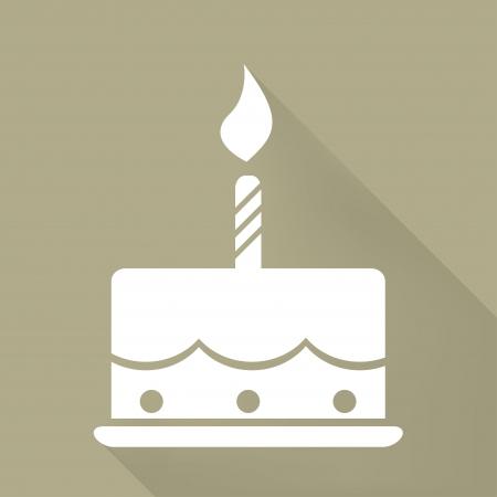 Verjaardagstaart web icon