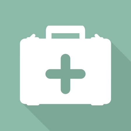 safety first: first aid kit icon