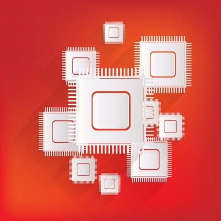 silicon: Microchip web icon