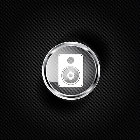 subwoofer: Icona web Subwoofer Vettoriali