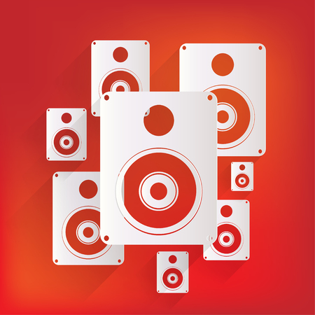speaker box: Icono del Web Subwoofer