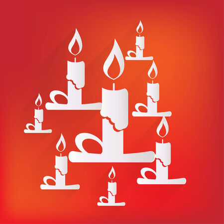 taper: Candle web icon