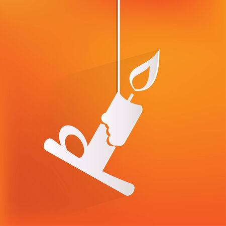 lightup: Candle web icon