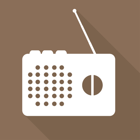 radio beams: Radio web icon