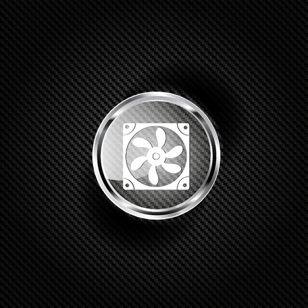 cooling: Computer cooling fan icon