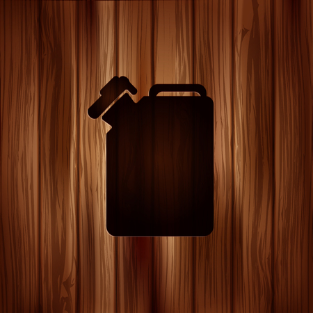 Fuel jerrycan icon Vector