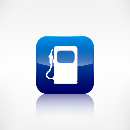 Gas, fuel station icon Vector