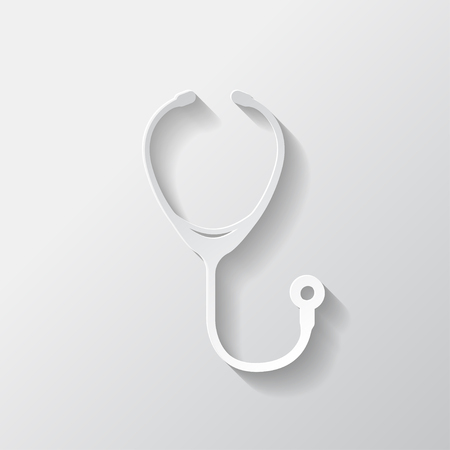 stetoscope: Stethoscope icon Illustration