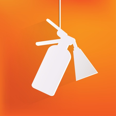 firealarm: Fire extinguisher icon