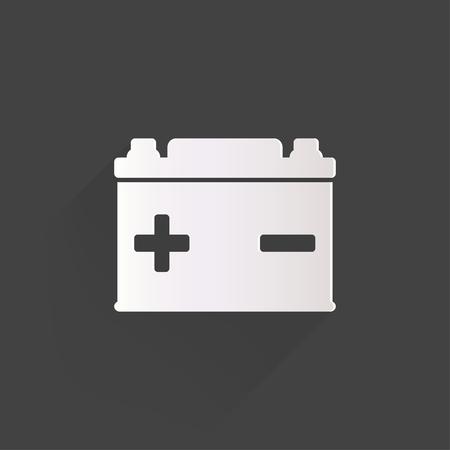 pila: Car icono de la batería