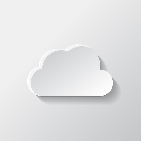 Application cloud icon. Vector
