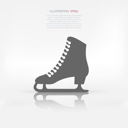 patinando: Icono de la web Skate Vectores