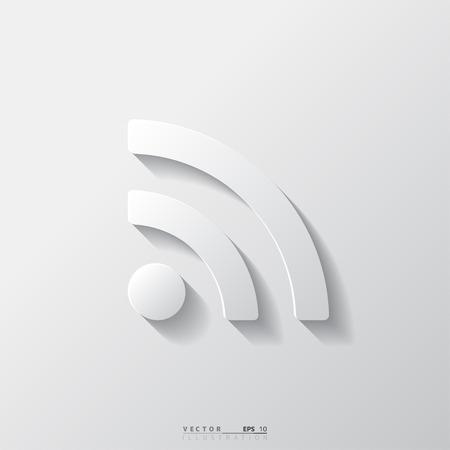 blogged: Rss icon, news symbol