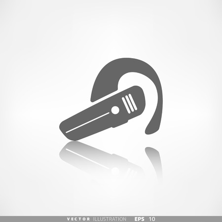 Bluetooth Headset icon. Wireless connection