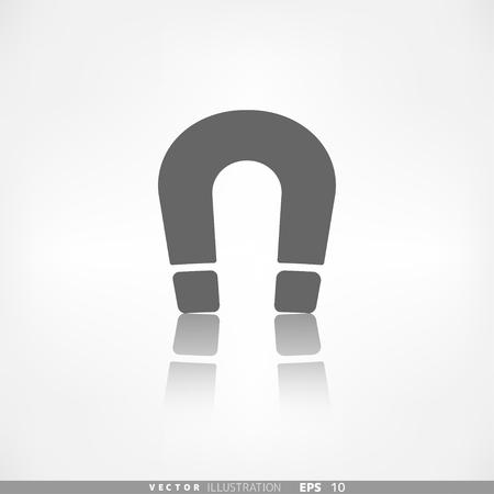 electromagnetism: Magnet Symbol. Electromagnetism symbol