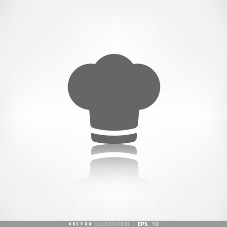 replaceable: Chef cap icon. Cooking cap