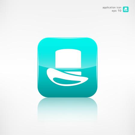 cylinder: Cylinder hat  icon