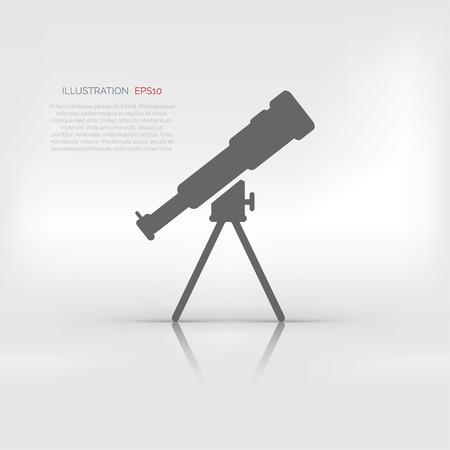 planetarium: Telescope icon