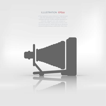 folding camera: Old wooden camera icon