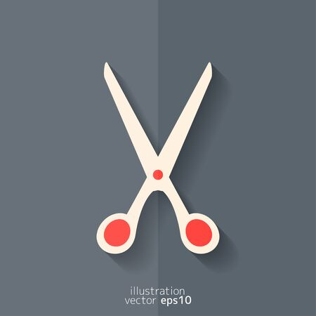 scissors icon: Scissors icon Illustration