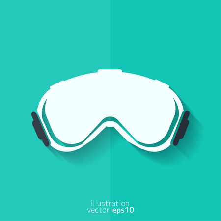 goggles: ski goggles icon