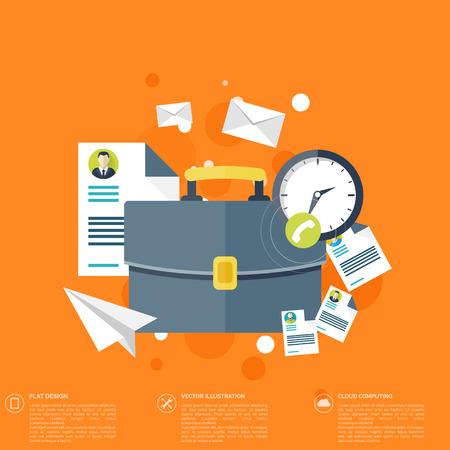 요약보고: papers.Temwork 개념 평면 배경. 글로벌 커뮤니케이션 및 작업 expierence이. 비즈니스, 브리핑 조직. 돈의 결정과 분석. 일러스트
