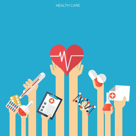 medicina: Cuidado de la salud de espacios de fondo la investigaci�n m�dica. Concepto de sistema de Salud. Medicina y la ingenier�a qu�mica. Vectores