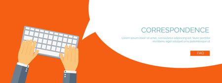 Vector illustration.  Global communication. Social network and chatting. Emailing and sms. Web calls. Internet.Smartphone.