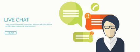 globális kommunikációs: Vector illustration.  Global communication. Social network ,chatting. Emailing and sms. Web calls. Internet.