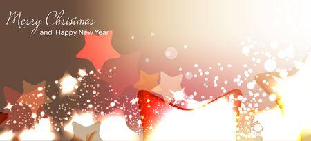 ベクトルの図。クリスマス カード。新しい年。冬の休日。お祝い。クリスマス。