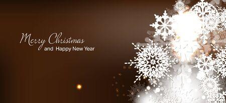 Illustrazione vettoriale Biglietto natalizio. Nuovo anno. Vacanze invernali. Celebrazione. Xmas. Archivio Fotografico - 49754951