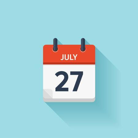 img https://us.123rf.com/450wm/floralset/floralset1603/floralset160300295/54047777-27-juillet-ic%C3%B4ne-de-calendrier-quotidien-plat-vectoriel-date-et-heure-jour-mois-vacances-.jpg?ver=6 /img