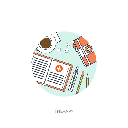medical study: Vector illustration. Flat medical background. Health care,first aid, research,cardiology. Medicine,study. Chemical engineering,pharmacy. Illustration